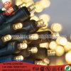 DEL allumant les lumières féeriques de patio du scintillement 5mm DEL de décoration à piles de Noël
