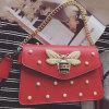 Мешки плеча повелительниц конструкции горячей сумки PU способа кожаный новые с перлой Sy8500