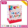 Bolso de compras del papel revestido del cumpleaños para los cabritos