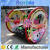 専門の子供の運動場新しいデザイン子供は販売のために大きい運動場LEのビュッフェ車を使用した
