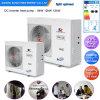L'Europe -25c froid hiver CHAMBRE + chauffage msme Evi Tech R407c 12kw/19kw/35kw/70kw/105kw chauffe-eau avec pompe à chaleur air Compact monobloc