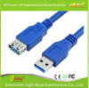 cable de extensión azul del USB 3.0 del color 6feet