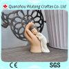 Ange de bébé de Polyresin avec le chiffre maison Decoraiton de modèle de main de Bouddha de résine