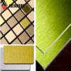 RoHS certificó el panel compuesto plástico de aluminio aplicado con brocha de la estructura del ACP