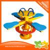 Напольное оборудование детей вращающееся кресло ручек парка атракционов 4 для сбывания