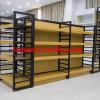 Estante de visualización flotante de madera del MDF de la tienda de comestibles del supermercado