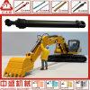 Engrasar los cilindros/el cilindro hidráulico para las piezas del excavador