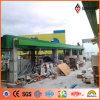 el panel externo de aluminio del color fresco del verde de la talla estándar de 1220*2440m m (AE-35B)