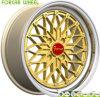 Оправы колеса алюминиевого сплава золота Forcar