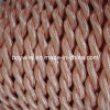 Luz - Cloth cor-de-rosa Covered Wire (2*0.75)