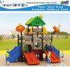 Corrediça ao ar livre Playsets HD-Tsh005 da escola do campo de jogos dos miúdos