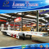 100 Tonnen 4 Radachsen-niedrige Bett-halb Förderwagen-Schlussteil-