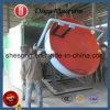 肥料の生産ラインで使用される単純構造ディスク造粒機