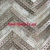 Sequin-Entwurf auf Ineinander greifen Fabric-Flk175