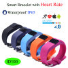 Android와 Ios Phone (ID100)를 위한 심혼 Rate Smart Bracelet