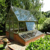 Les Sunrooms préfabriqués par modèle européen moderne, Chambre en verre préfabriquée, durcissent les salles de Sun (TS-535)