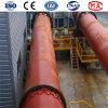 セメント、石灰、鉄鋼の餌のための単一シリンダーロータリーキルン機械