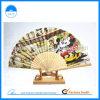De Japanse Stokken van het Bamboe van de Ventilator van het Document van het Ontwerp van het Beeldverhaal