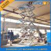 Galvaniseerde de Hete ONDERDOMPELING van China de Hydraulische Elektrische Lift van de Schaar met Ce