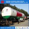 3 acoplado del tanque del árbol 20tons 50000L 25tons LPG