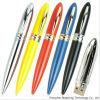 Azionamenti su ordinazione dell'istantaneo del USB di figura della penna, azionamenti del USB del metallo
