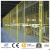 Cerca soldada cubierta PVC del acoplamiento de alambre del aislamiento del taller