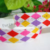 Hair colorido Bows Ribbon com Printed Grosgrain Ribbon