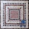 Mezclado Planta Modelo de mosaico para el Hotel Salón Decoración