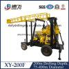 Xy-200f Meilleure vente Borewell hydraulique avec le prix de la machine de forage