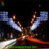 Kerstmis die OpenluchtPool aansteekt zette Licht voor de Decoratie van de Straat op