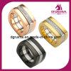 Jóia do anel do aço inoxidável do tamanho de Dufferent da forma de D (SR237)