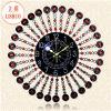 12 pulgadas Art Metal Quartz Wall Clock con el árabe Numbers