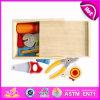 2014의 새로운 다채로운 나무로 되는 아이 장난감 공구, Popualr 아이들 나무로 되는 장난감 연장 세트는, 최신 판매 교육 DIY 아기 장난감 상자 W13e026를 도구로 만든다
