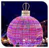 屋外LEDの軽いクリスマスの球の装飾