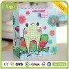 Bolsas de papel del regalo del arte del almacén de juguete de los niños de la rana