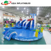 膨脹可能な水公園、水公園のゲーム、遊園地