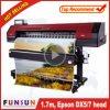 Funsunjet FS-1700m Eco solvente impresora con un DX5 de la cabeza (3,2 m, 4 colores CMYK, 1440dpi)