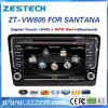 Sistema do carro DVD para VW Santana/Bora 2013 com GPS Bluetooth