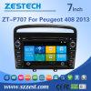 Percorso dell'automobile DVD GPS dello schermo di tocco di Zestech per Peugeot 408 2013