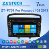 Peugeot 408를 위한 Zestech 접촉 스크린 차 DVD GPS 항법 2013년