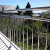 容易バルコニーのためのステンレス鋼の棒の柵デザインをインストールしなさい
