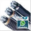 De nietgepantserde XLPE Geïsoleerded pvc In de schede gestoken Kabel van de Legering van het Aluminium