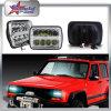 5*7 phare Light- principal du grand dos DEL de faisceau de pouce DEL Hi/Low pour le phare de camion pour le Wrangler de jeep