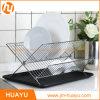 Edelstahl-Chrom-Eisen-Küche-Tellerständer-chromierte Draht-Tellerständer
