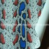 Surface de serpent recto-verso (QDL PU Chaussures en cuir-SP032)