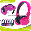 ピンクの普及した高品質の卸売のステレオのヘッドホーンのヘッドホーン