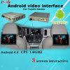 Interface automatique Android Toyota Sienna avec navigation Android, processeur Quad-Core, Système inversé, WiFi, Lien miroir
