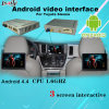 Toyota Sienna Android Auto Interface com Android Navigation, Quad-Core Processor, Reverse System, WiFi, Mirrorlink