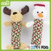 Stuk speelgoed van het Huisdier van het Stuk speelgoed van Kerstmis Plush&Stuffed van de hond het Dierlijke