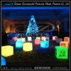 Cubo de cubo de muebles de iluminación LED para la decoración de la barra